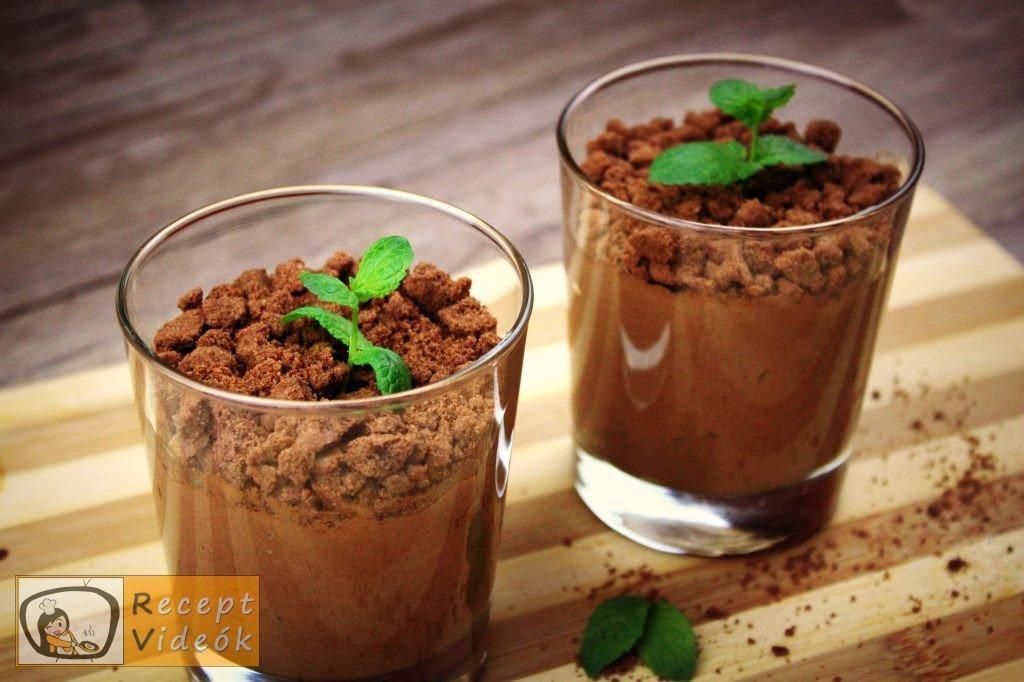 Étcsokoládés menta palánta recept elkészítése - Recept Videók