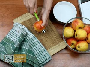 Almás piterózsa recept, almás piterózsa elkészítése 1. lépés
