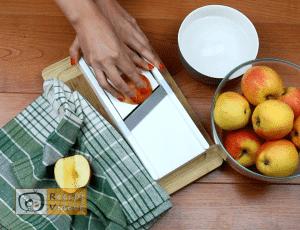 Almás piterózsa recept, almás piterózsa elkészítése 2. lépés