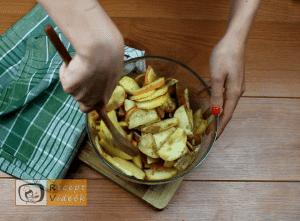 Almás piterózsa recept, almás piterózsa elkészítése 3. lépés
