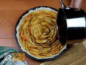 Almás piterózsa recept, almás piterózsa elkészítése 8. lépés
