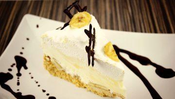 Banános habtorta recept, banános habtorta elkészítése - Recept Videók