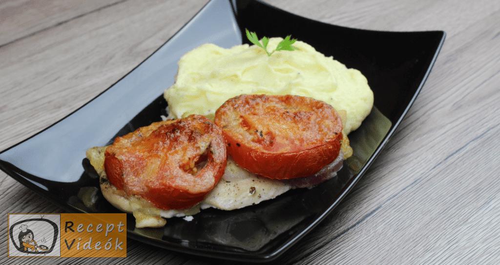 Mozzarellás paradicsomos csirke recept elkészítése - Recept Videók