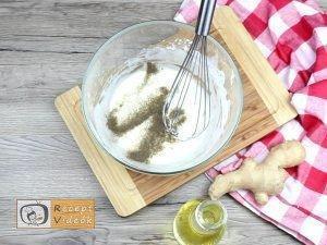 Illatos omlós csirke recept, illatos omlós csirke elkészítése 2. lépés