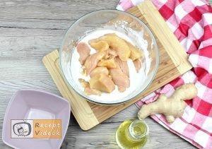Illatos omlós csirke recept, illatos omlós csirke elkészítése 3. lépés
