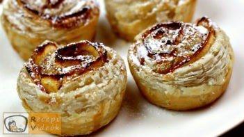 Alma rózsák recept, alma rózsák elkészítése - Recept Videók