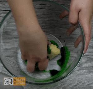 Halloweeni süti recept (halloween-i boszorkány ujjak) 3. lépés