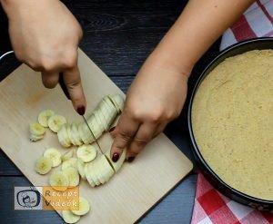 Banános habtorta recept, banános habtorta elkészítése 2. lépés