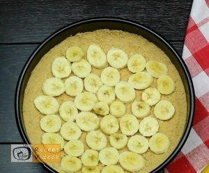 Banános habtorta recept, banános habtorta elkészítése 3. lépés