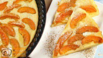 Sárgabarackos pite recept, sárgabarackos pite elkészítése - Recept Videók