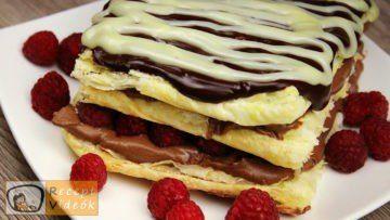 Málnás csokis süti recept, málnás csokis süti készítése - Recept Videók