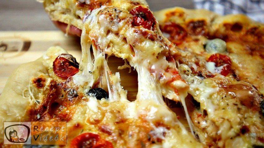 Flóra pizzája