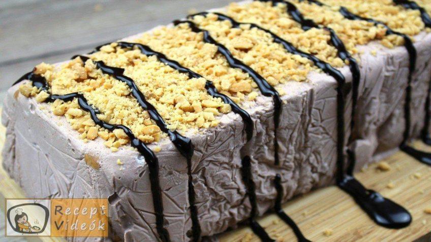 Kekszes jégkrémtorta recept, kekszes jégkrémtorta elkészítése - Recept Videók