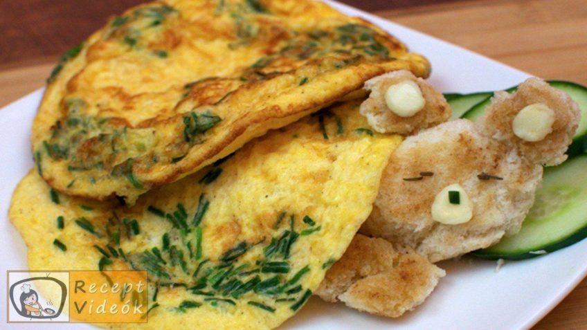 Maci omlett recept, maci omlett elkészítése - Recept Videók