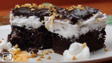 Mogyorós-étcsokoládés süti recept, mogyorós-étcsokoládés süti elkészítése - Recept Videók