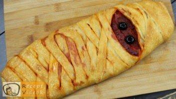 EGYSZERŰ HALLOWEEN SÜTI RECEPTEK - múmia pizza - Recept Videók