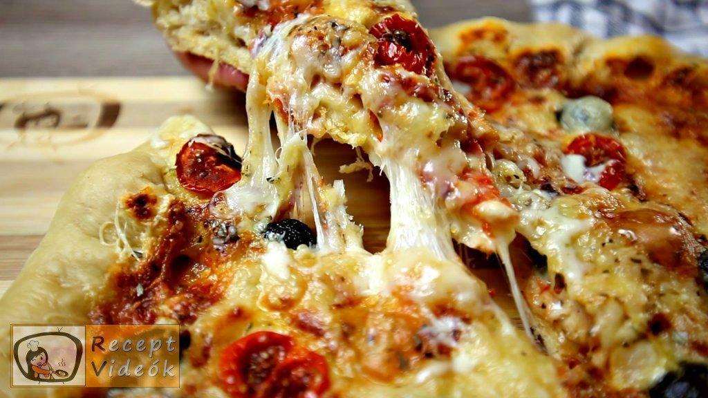 Flóra pizzája recept, Flóra pizzája elkészítése - Recept Videók