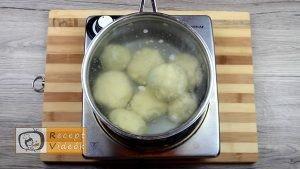Szilvás gombóc recept, szilvás gombóc elkészítése 9. lépés