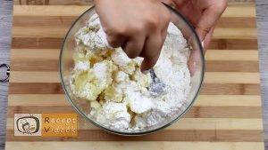 Szilvás gombóc recept, szilvás gombóc elkészítése 4. lépés