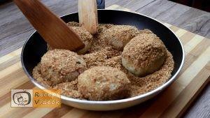 Szilvás gombóc recept, szilvás gombóc elkészítése 10. lépés