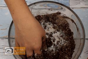 Kókuszos keksztekercs recept, kókuszos keksztekercs elkészítése 2. lépés