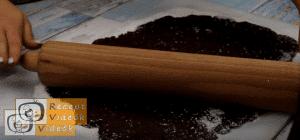 Kókuszos keksztekercs recept, kókuszos keksztekercs elkészítése 4. lépés
