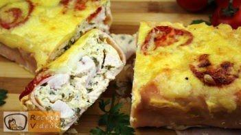 Tavaszi csirkealagút recept, tavaszi csirkealagút elkészítése - Recept Videók