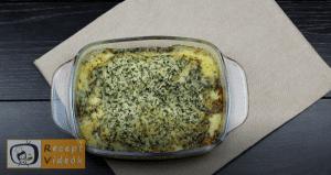 Töltött csirkemell mustáros besamel mártással - Csirkemell receptek elkészítése 8. lépés