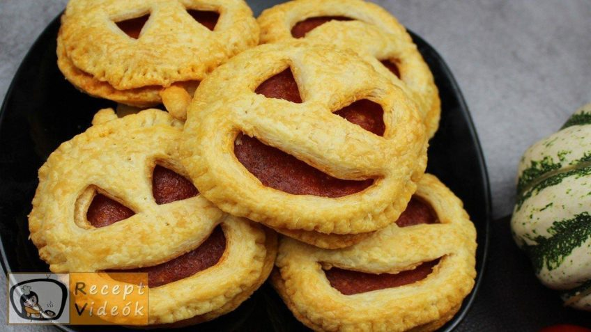 Halloweeni süti recept (töklámpa ropogós) - Recept Videók