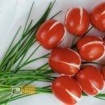 Paradicsom tulipán recept, paradicsom tulipán elkészítése - Recept Videók