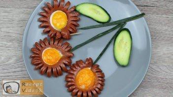 Virsli margaréták recept, virsli margaréták elkészítése - Recept Videók