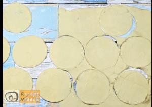 áfonyás-krémsajtos párna recept, áfonyás-krémsajtos párna elkészítése 1. lépés