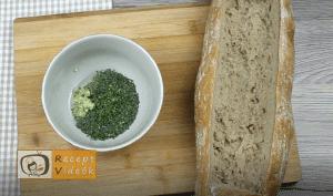Lasagne baguette recept, lasagne baguette elkészítése 2. lépés