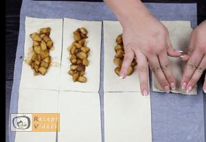 Amerikai almáspite recept, amerikai almáspite elkészítése 3. lépés