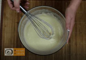 egyszerű palacsinta recept (túrós palacsinta) elkészítése 2. lépés