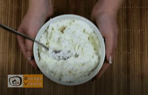 egyszerű palacsinta recept (túrós palacsinta) elkészítése 5. lépés