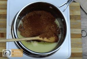 habos csokoládészelet recept, habos csokoládészelet elkészítése 2. lépés