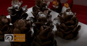 Karácsonyi diy kreatív recept ötletek, asztaldíszek (Havas tobozok) 5. lépés