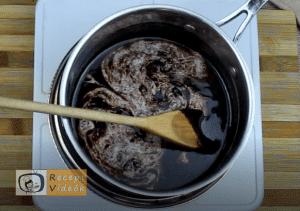 habos csokoládészelet recept, habos csokoládészelet elkészítése 3. lépés