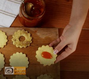 Linzer karikák recept, linzer karikák elkészítése 8. lépés
