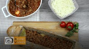 Lasagne baguette recept, lasagne baguette elkészítése 9. lépés