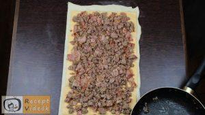 Húsos csiga recept, húsos csiga elkészítése 3. lépés