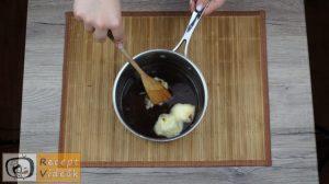 Karamellás babapiskótás szelet recept, karamellás babapiskótás szelet elkészítése 7. lépés