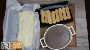 Karamellás babapiskótás szelet recept, karamellás babapiskótás szelet elkészítése 10. lépés