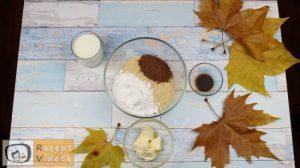keksz sünik recept, keksz sünik elkészítése 1. lépés