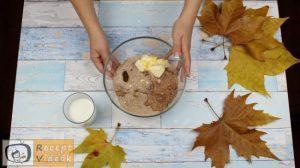 keksz sünik recept, keksz sünik elkészítése 2. lépés