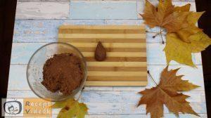keksz sünik recept, keksz sünik elkészítése 3. lépés