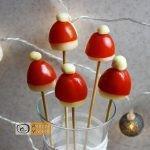Karácsonyi diy kreatív recept ötletek, asztaldíszek - Mikulás sapka - Recept Videók