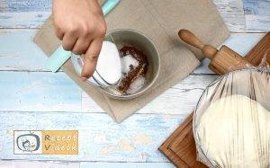 Kakaós csavart recept, kakaós csavart elkészítése 1. lépés