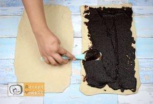 Kakaós csavart recept, kakaós csavart elkészítése 3. lépés